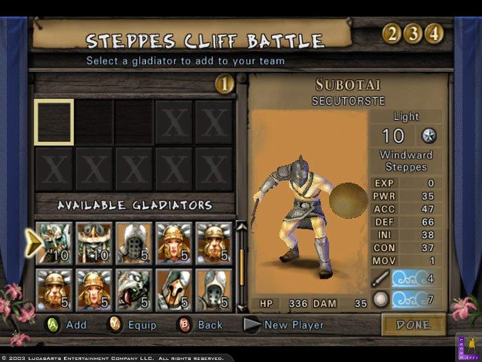 gladiator spiel ps2