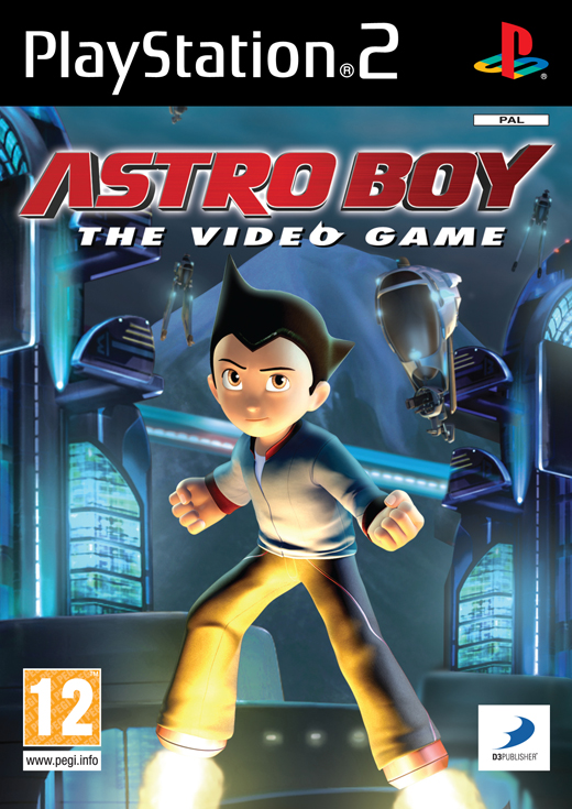 Astro Boy The Video Game PS2