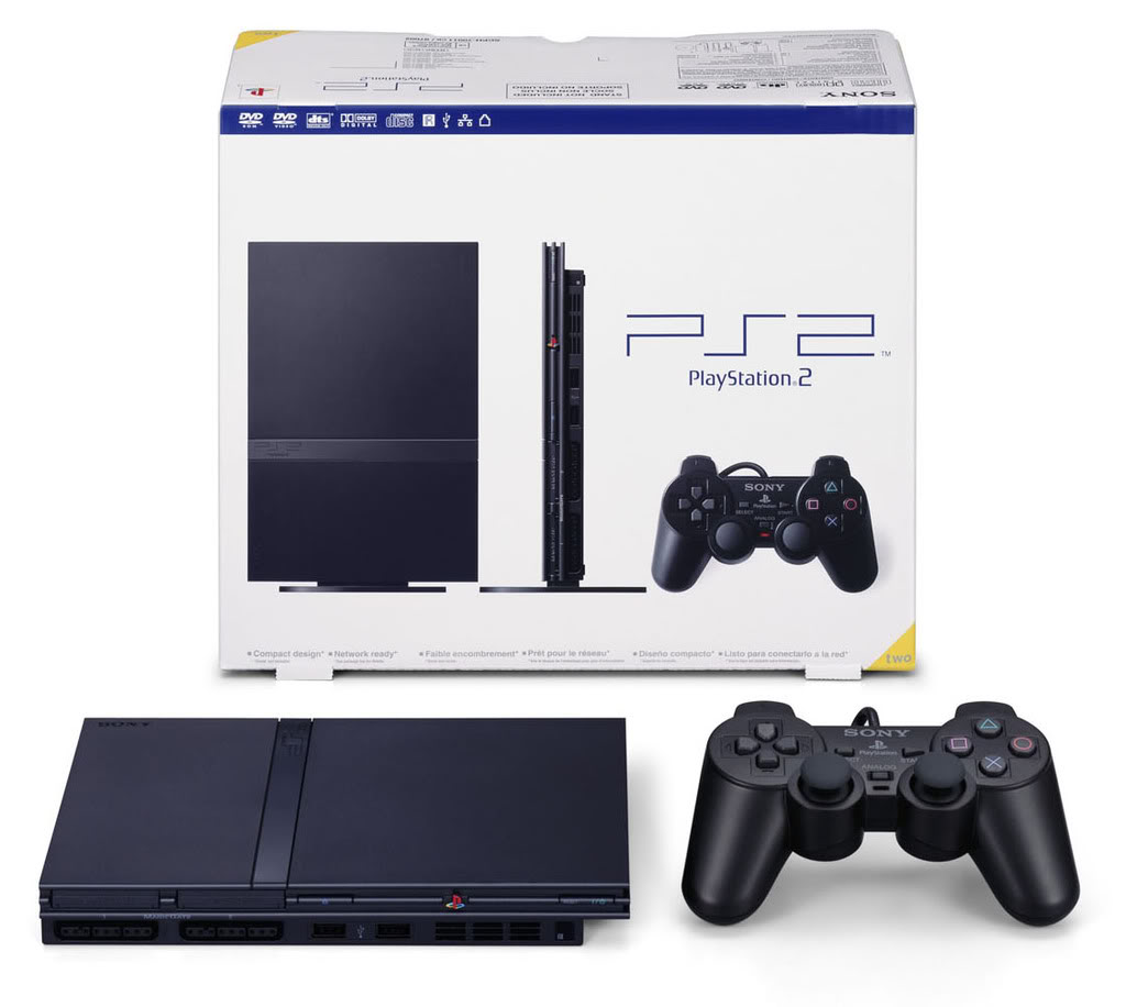 Playstation 2 Slim Box Ps2 home - the home of