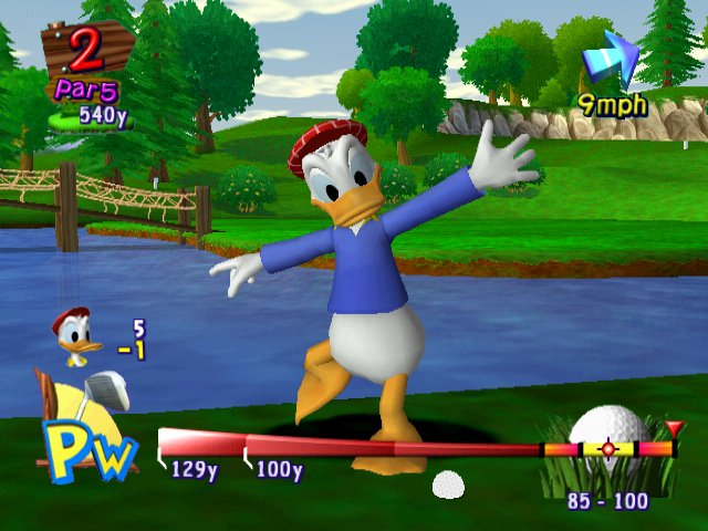 Disney Golf PS2 3