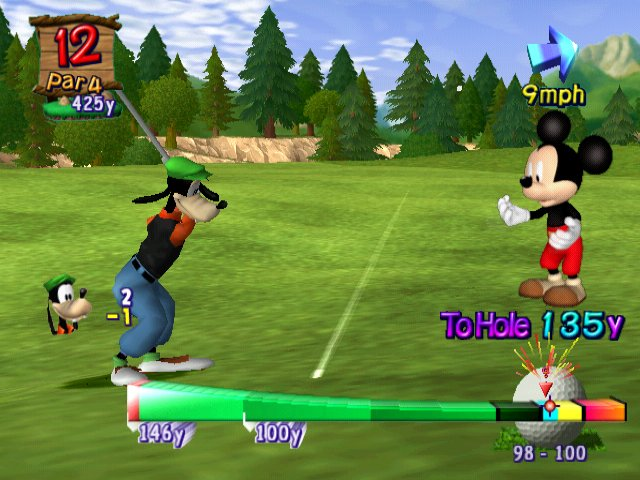 Disney Golf PS2