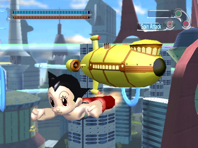 Astro Boy The Video Game PS2 3